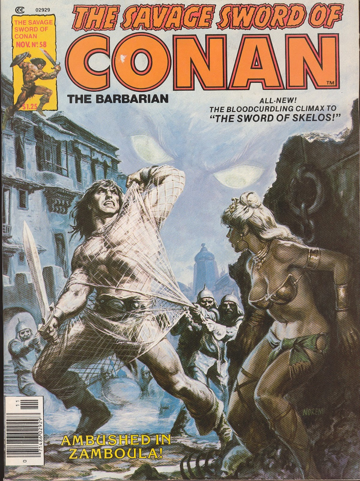 The Savage Sword Of Conan Issue #58 #59 - English 1