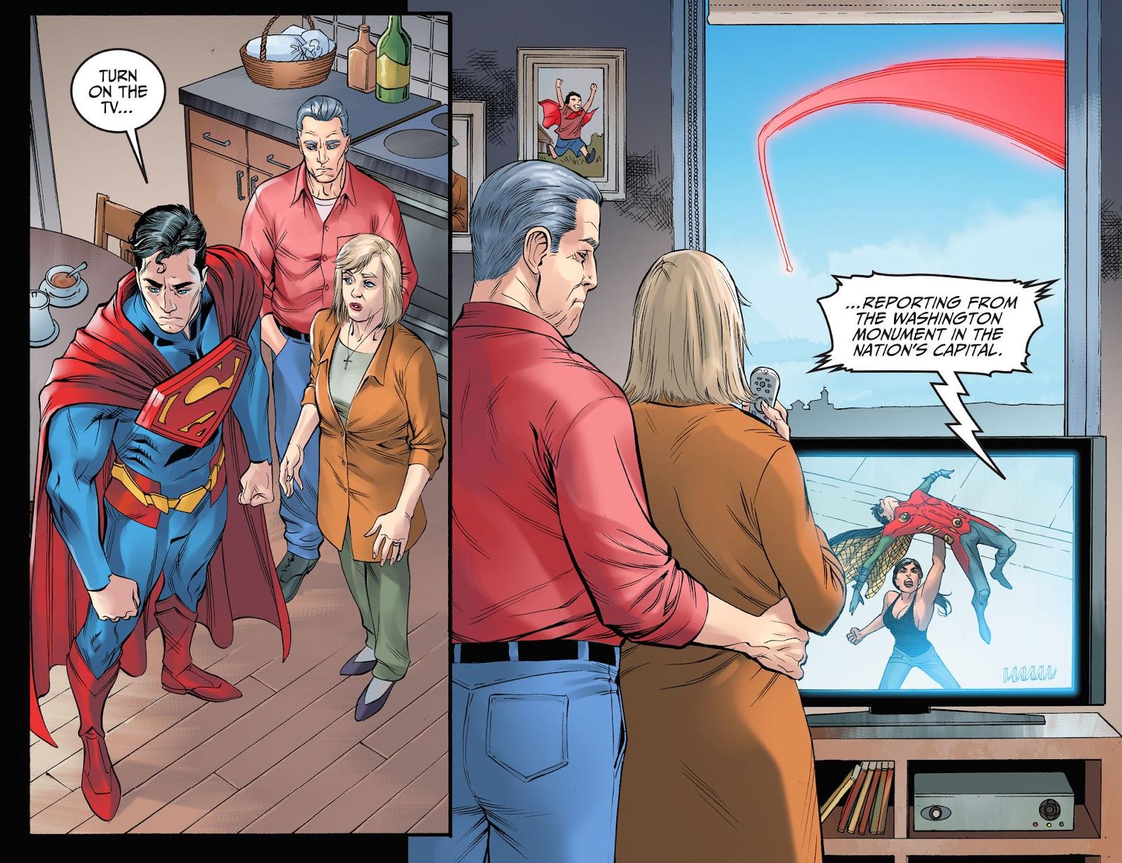Injustice: Gods Among Us Year Four Issue #3 #4 - English 12