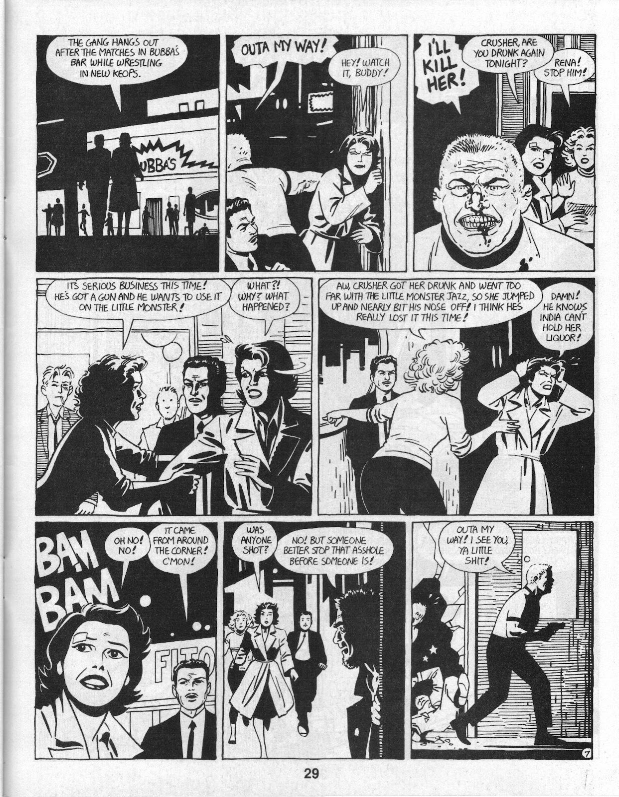 Love and Rockets (1982) Issue #14 #13 - English 31