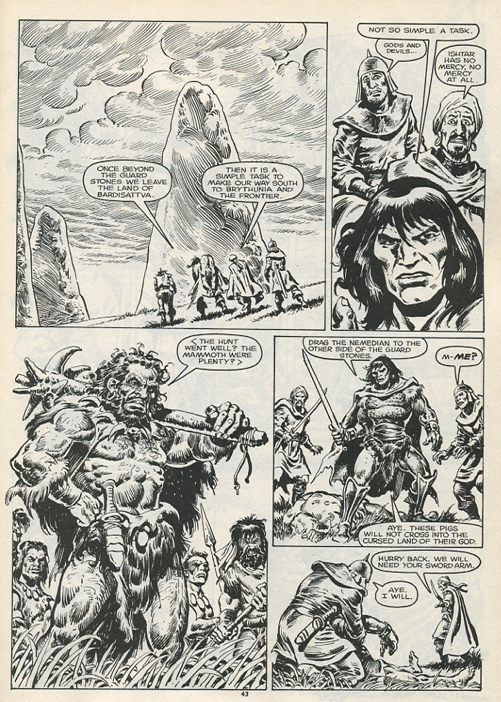 The Savage Sword Of Conan Issue #178 #179 - English 45