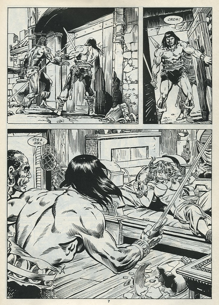 The Savage Sword Of Conan Issue #182 #183 - English 9