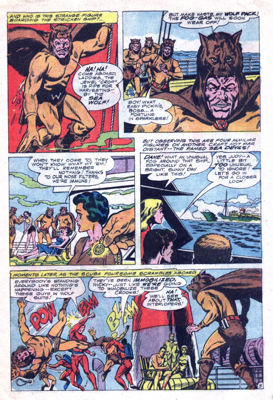 Read online Sea Devils comic -  Issue #33 - 6