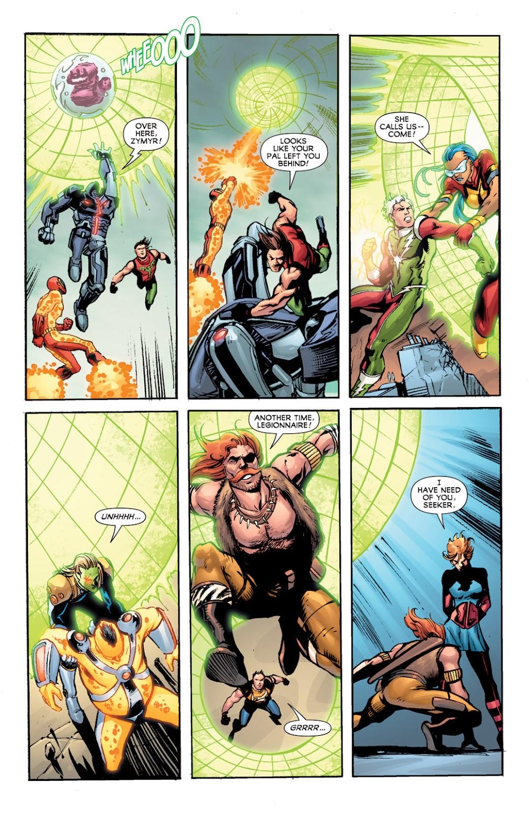 Legion of Super-Heroes (2010) Issue #13 #14 - English 20