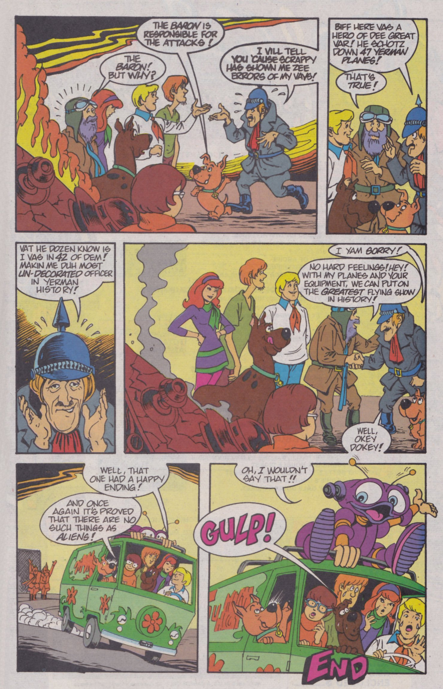 Read online Scooby-Doo (1995) comic -  Issue #4 - 23