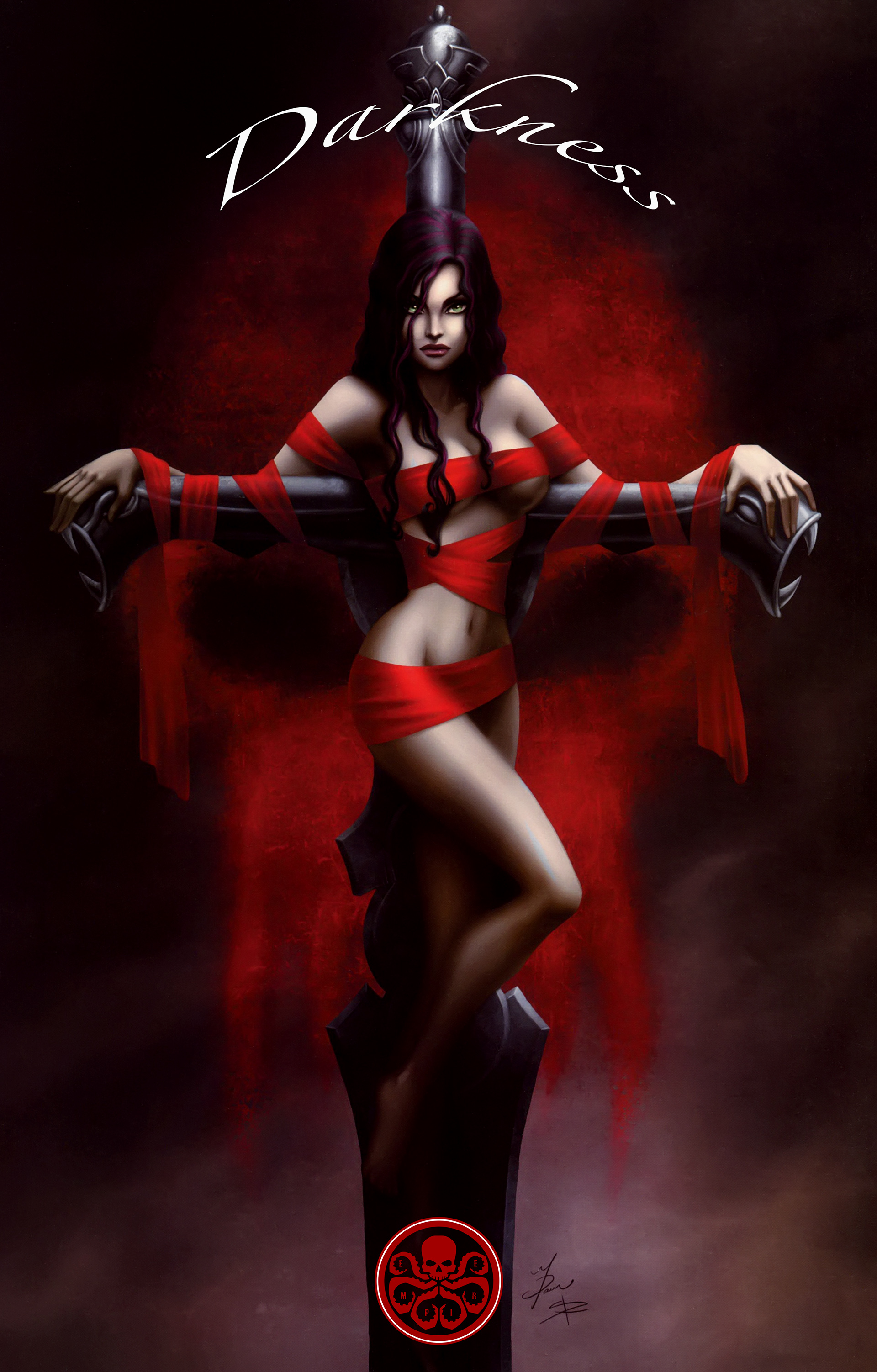 Read online The Darkness (2007) comic -  Issue #113 - 39