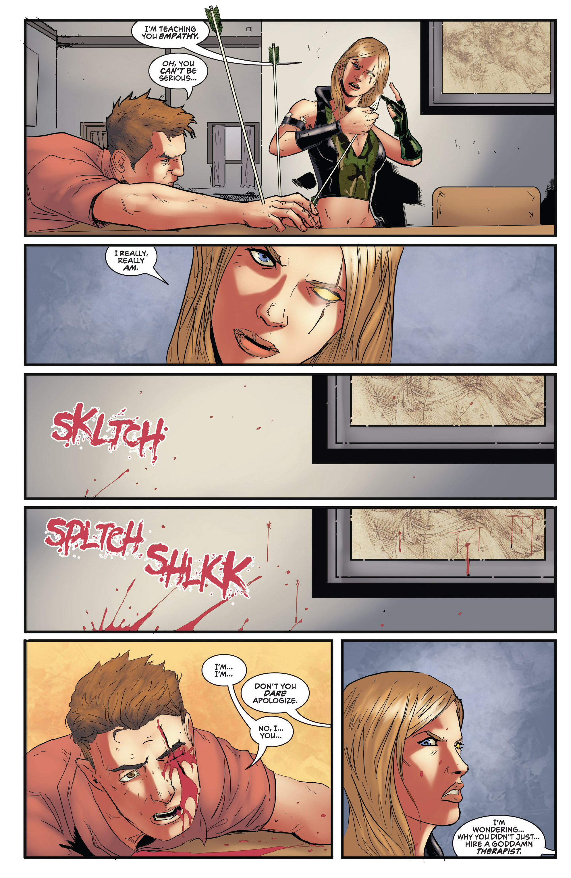 Read online Grimm Fairy Tales presents Robyn Hood (2012) comic -  Issue #5 - 28