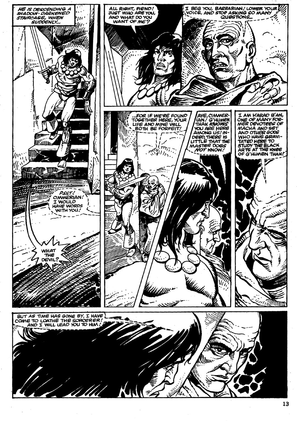 The Savage Sword Of Conan Issue #86 #87 - English 13