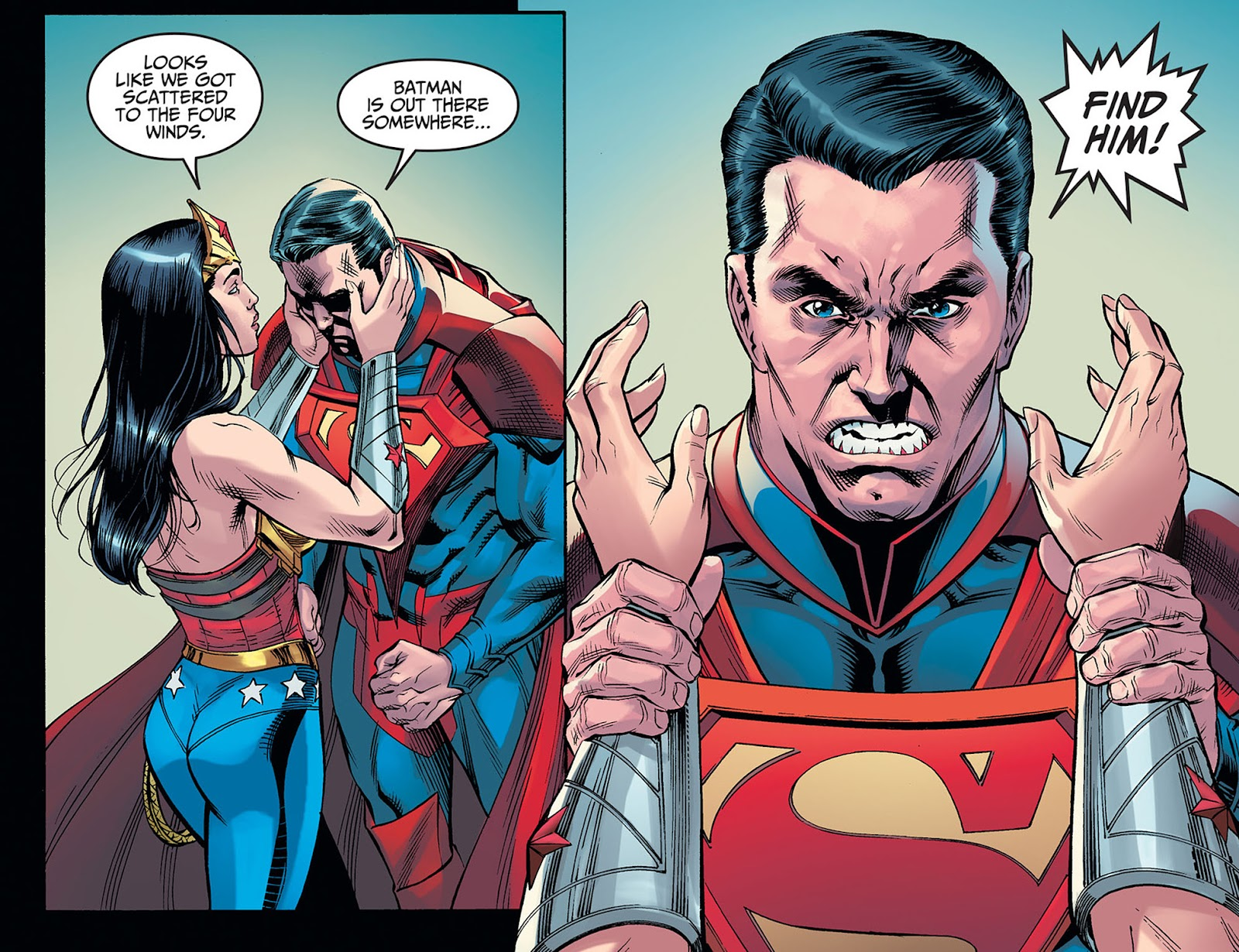 Injustice: Gods Among Us: Year Five Issue #40 #41 - English 21