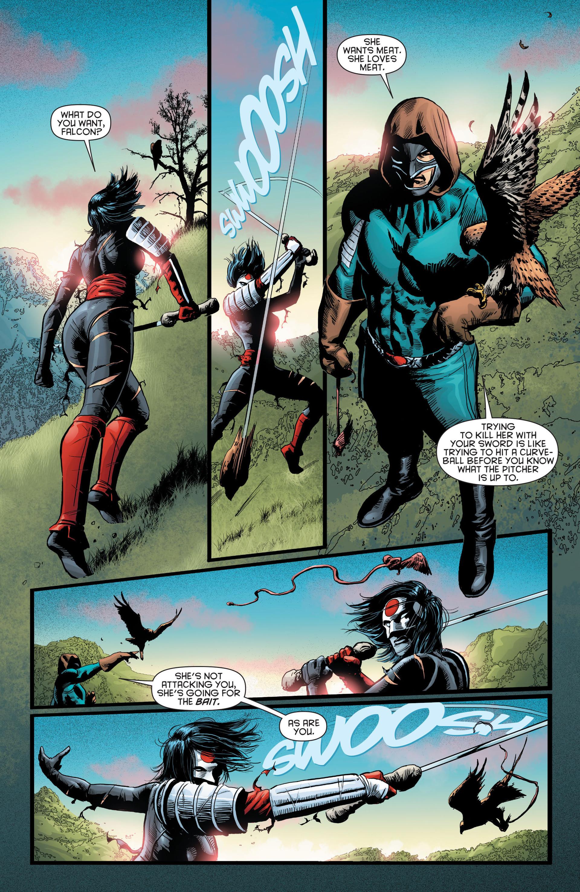 Read online Katana comic -  Issue #8 - 16