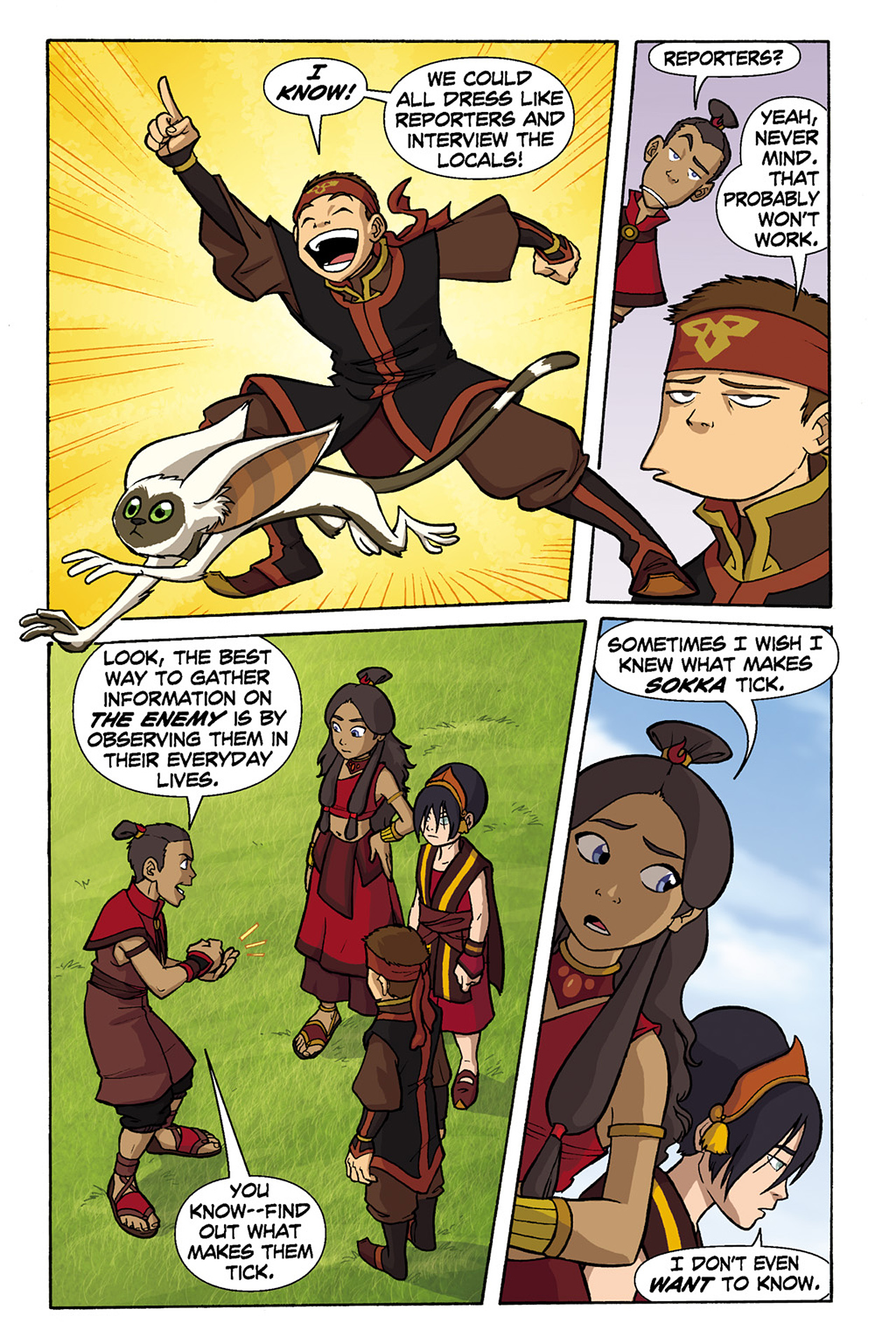 Nickelodeon Avatar: The Last Airbender - The Lost Adventures chap full pic 117