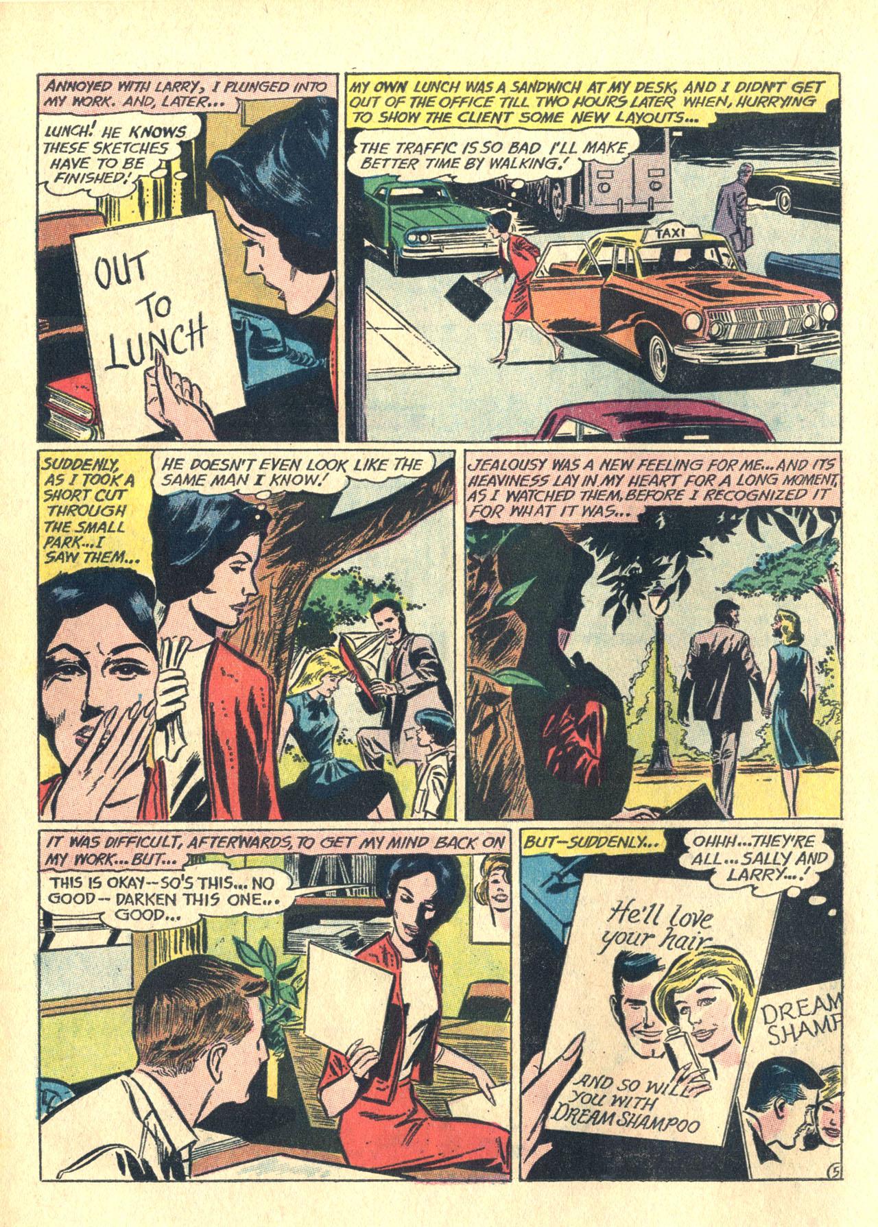 Read online Secret Hearts comic -  Issue #116 - 14