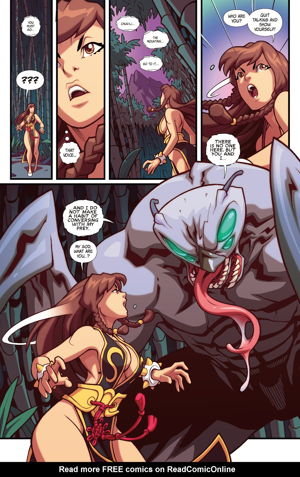 Street Fighter VS Darkstalkers Issue #1 #2 - English 4