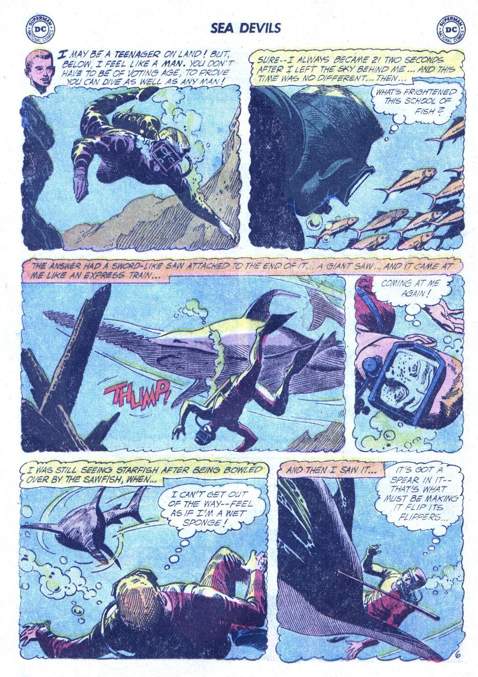 Read online Sea Devils comic -  Issue #4 - 9