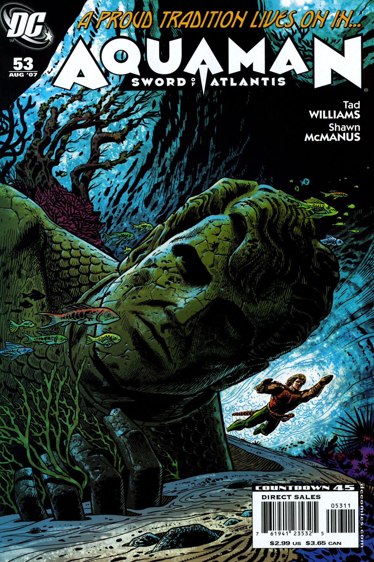 Aquaman: Sword of Atlantis 53 Page 1