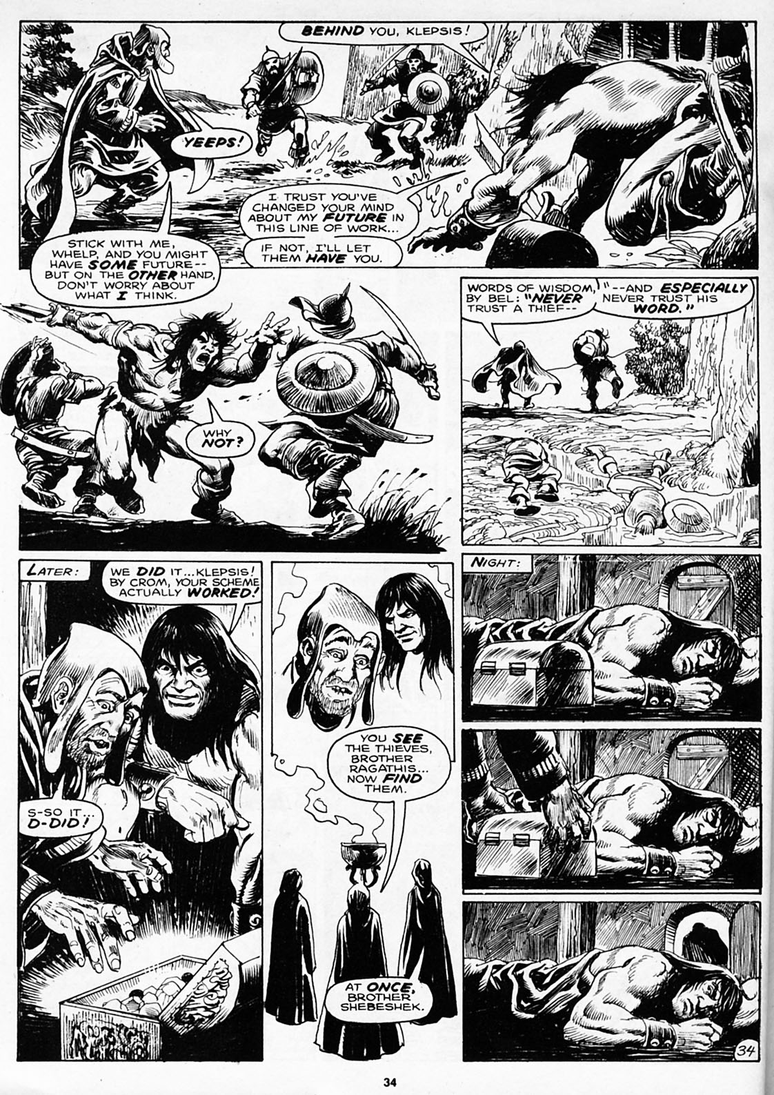 The Savage Sword Of Conan Issue #180 #181 - English 36