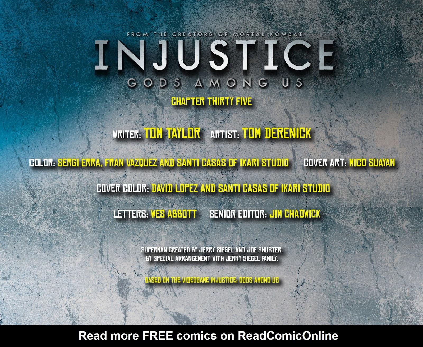 Injustice: Gods Among Us [I] Issue #35 #36 - English 2