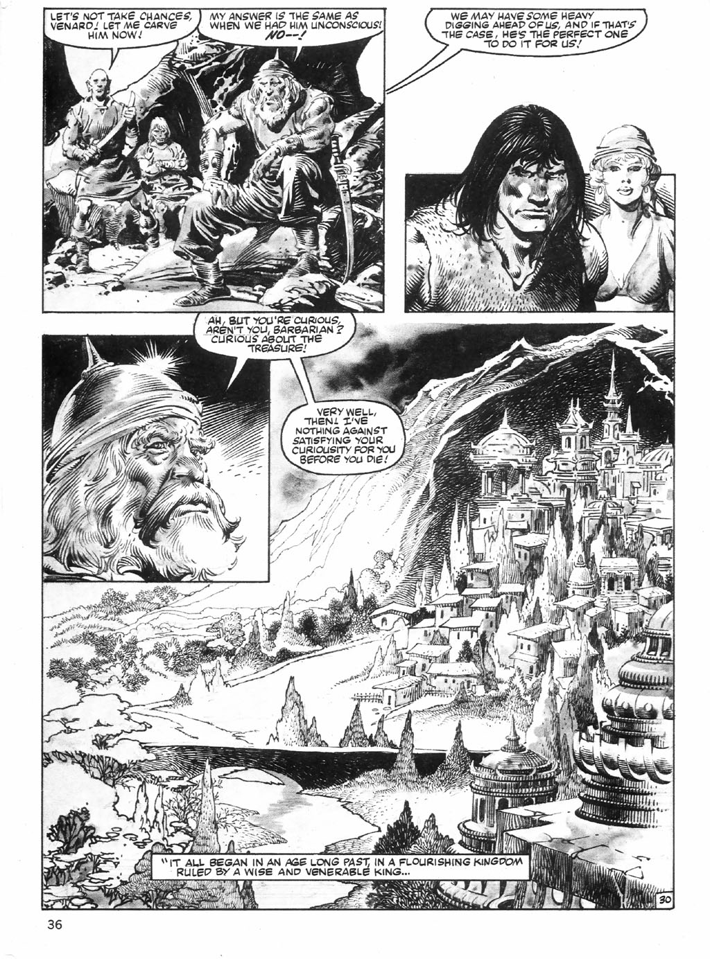 The Savage Sword Of Conan Issue #98 #99 - English 36