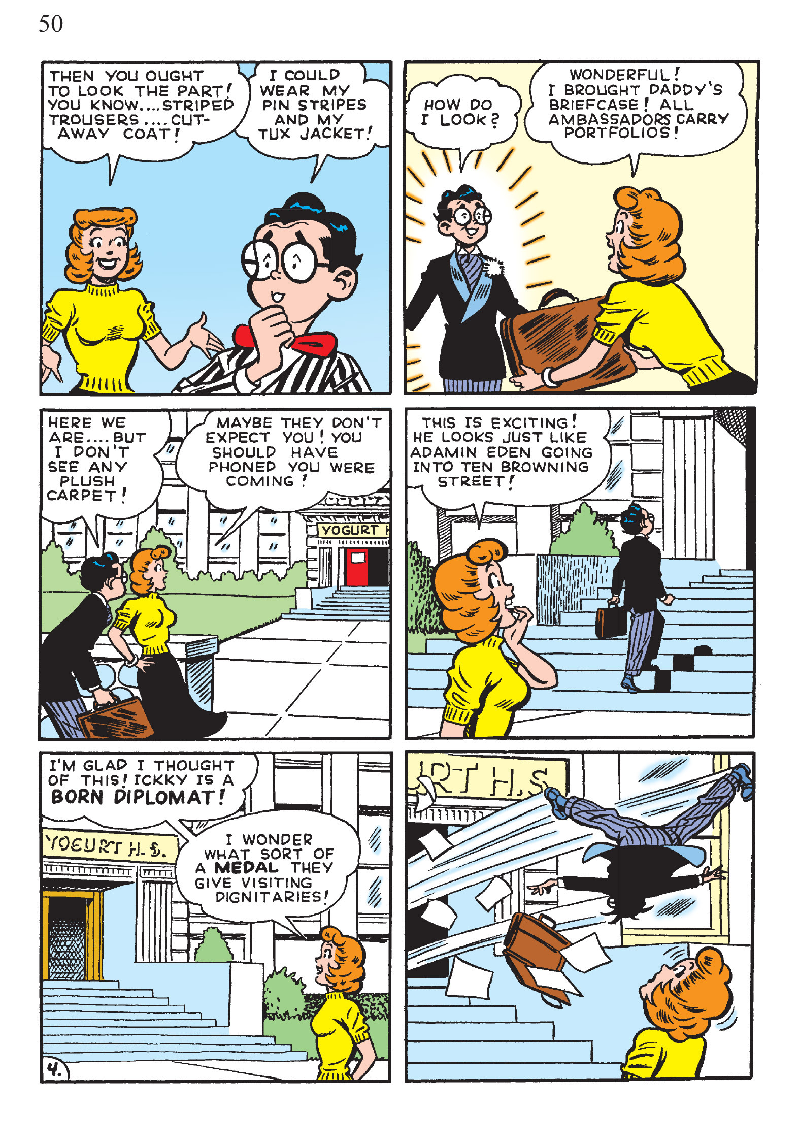 Read online The Best of Archie Comics comic -  Issue # TPB 2 (Part 1) - 52