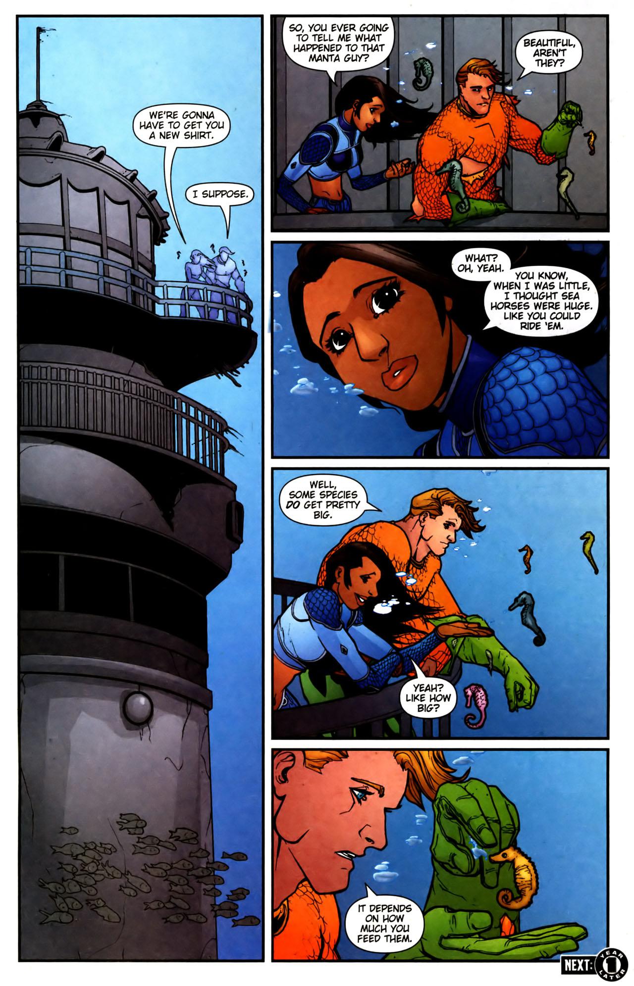 Read online Aquaman (2003) comic -  Issue #39 - 23