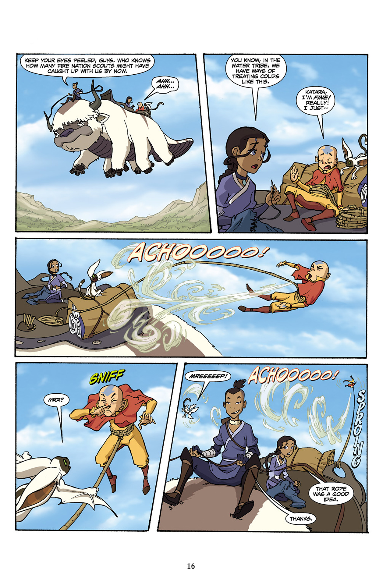 Nickelodeon Avatar: The Last Airbender - The Lost Adventures chap full pic 17