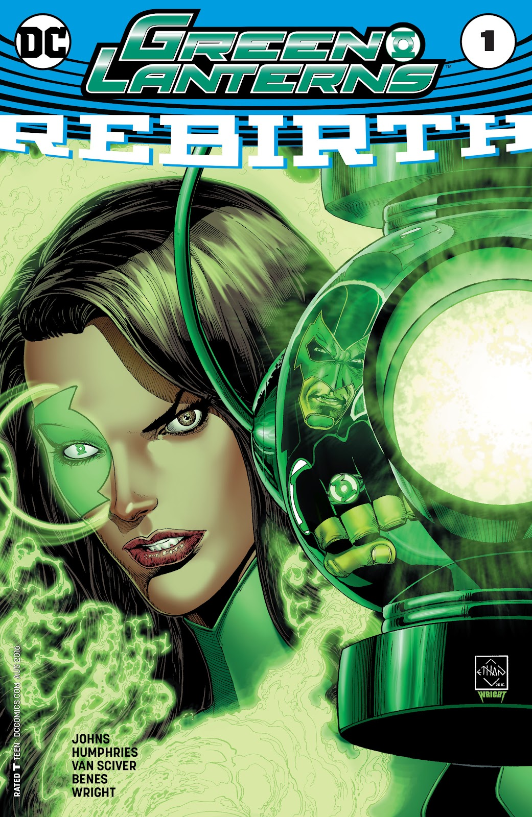 Green Lanterns: Rebirth issue Full - Page 1