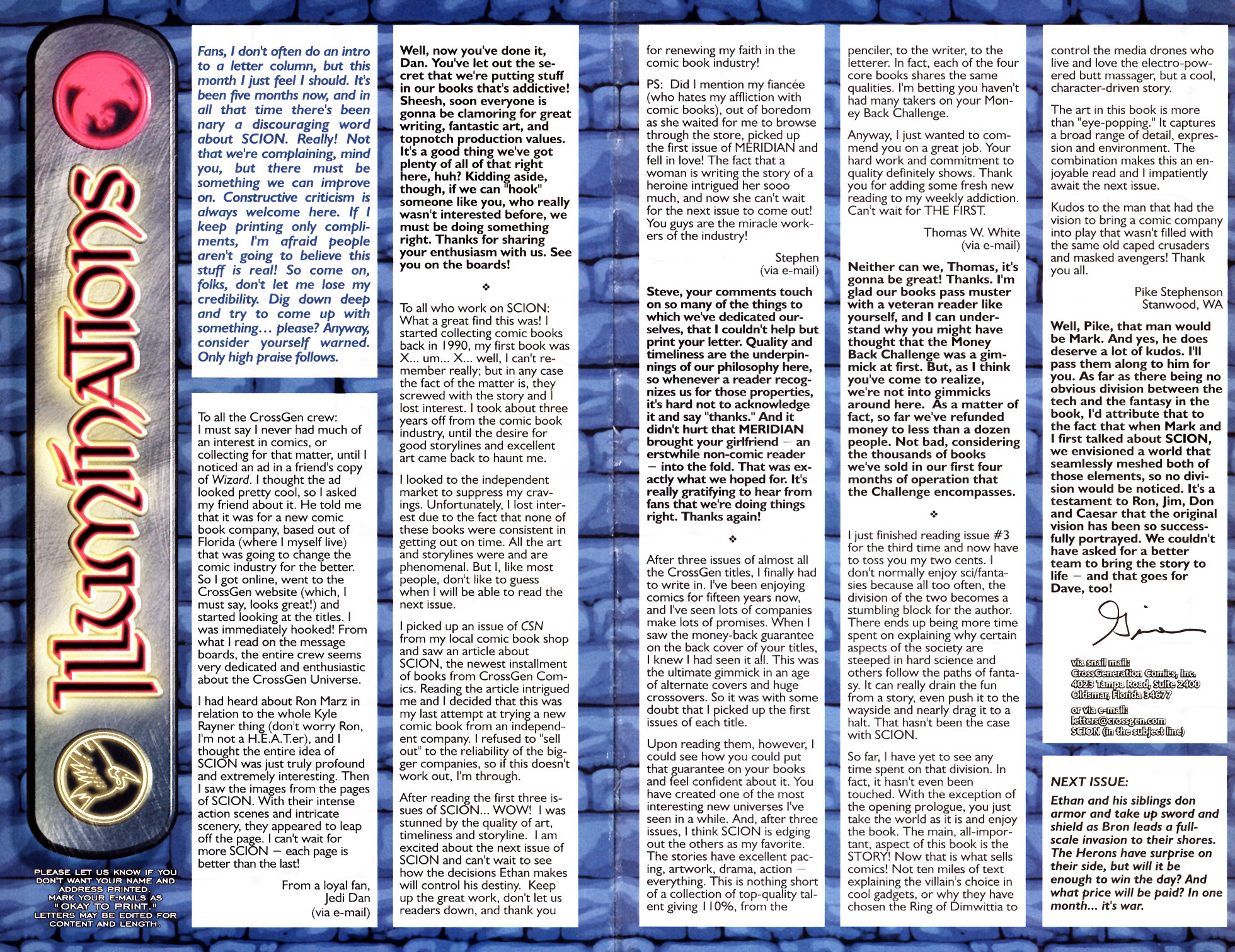 Read online Scion comic -  Issue #5 - 26