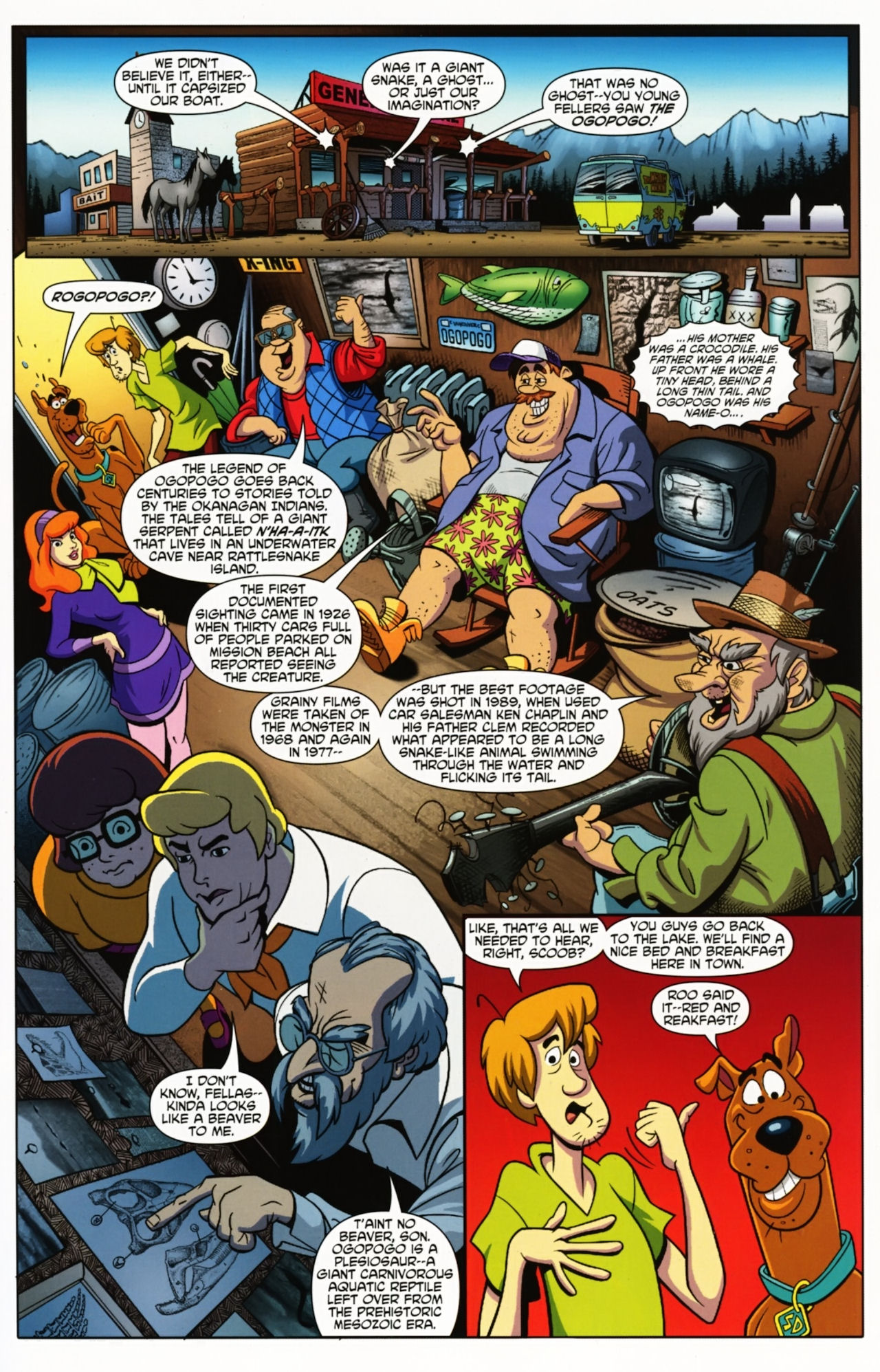Read online Scooby-Doo: Where Are You? comic -  Issue #1 - 9
