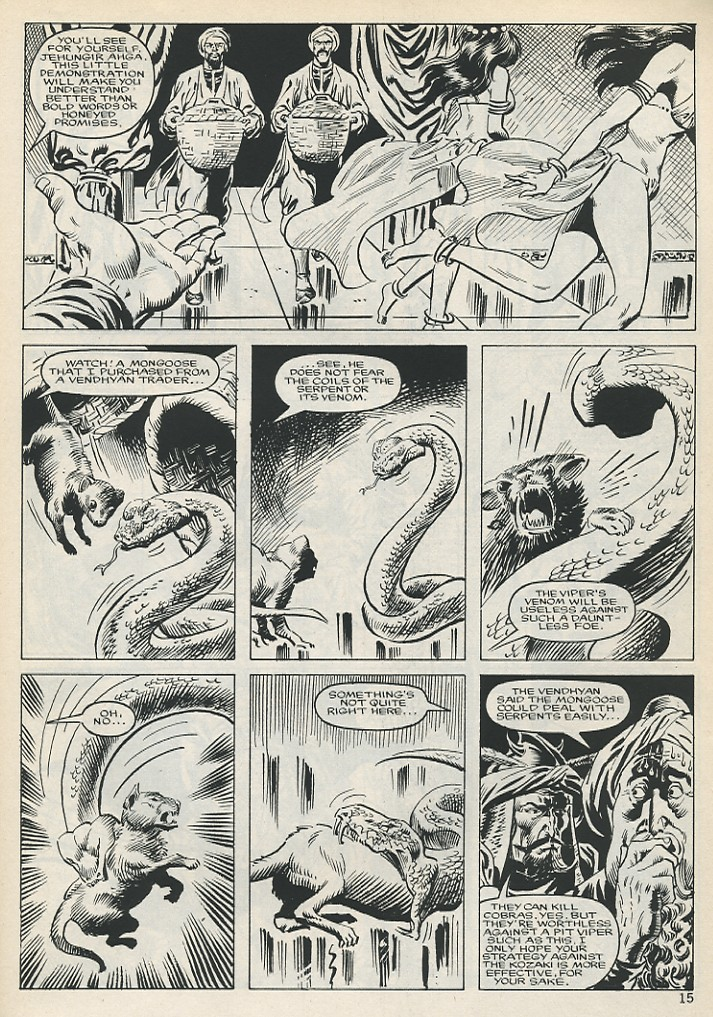 The Savage Sword Of Conan Issue #131 #132 - English 15