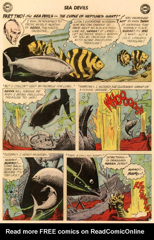Read online Sea Devils comic -  Issue #8 - 12