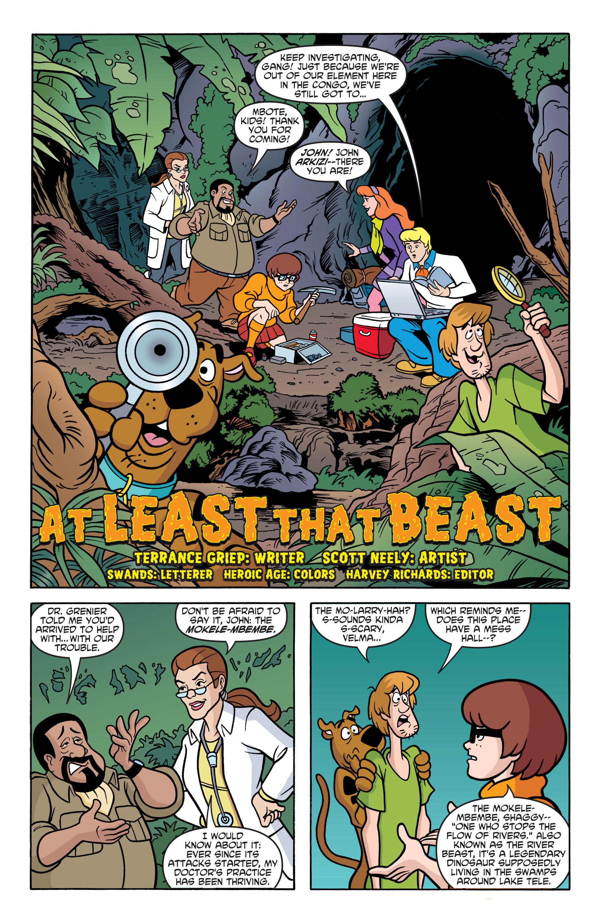 Read online Scooby-Doo: Where Are You? comic -  Issue #67 - 12