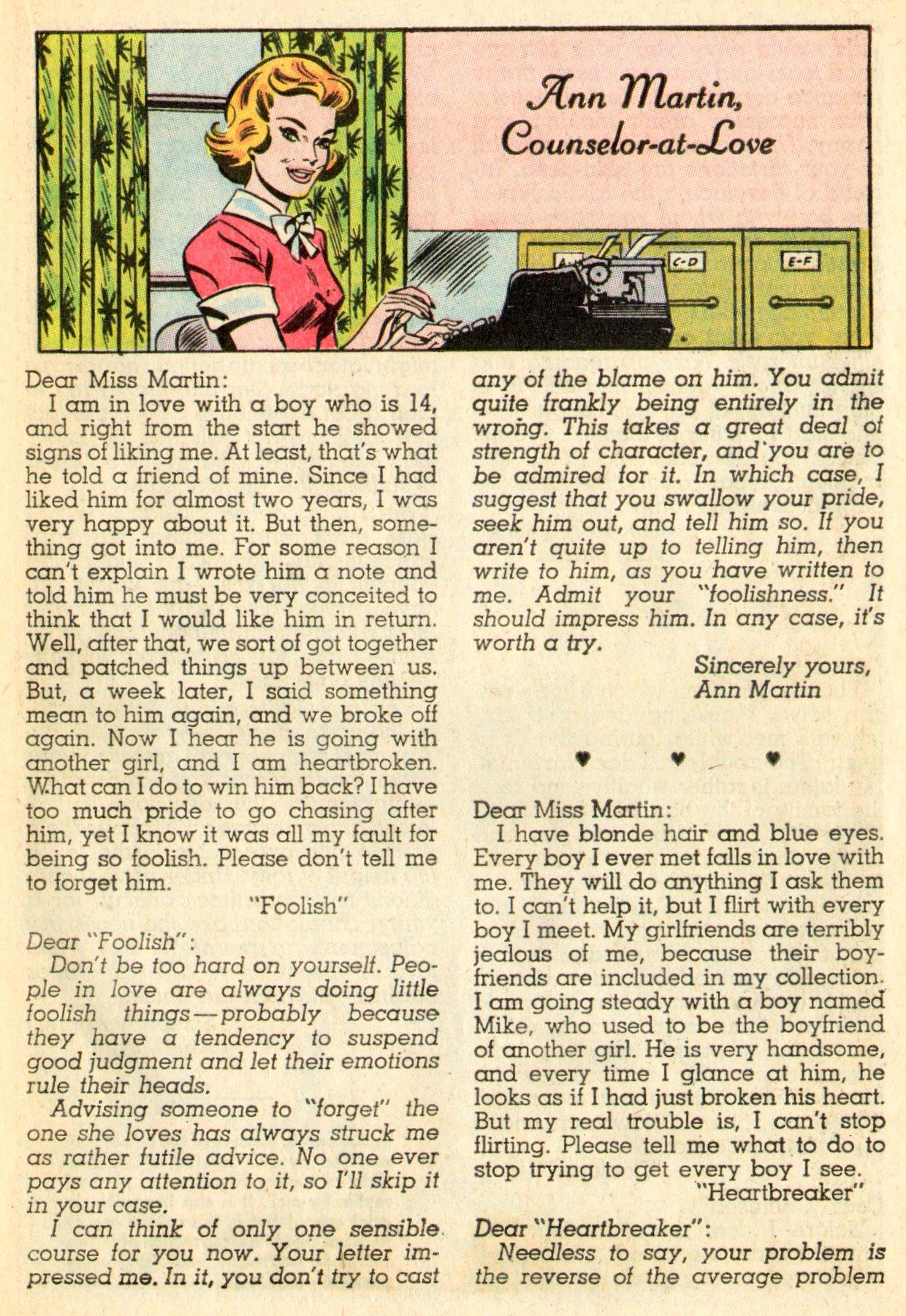 Read online Secret Hearts comic -  Issue #101 - 17