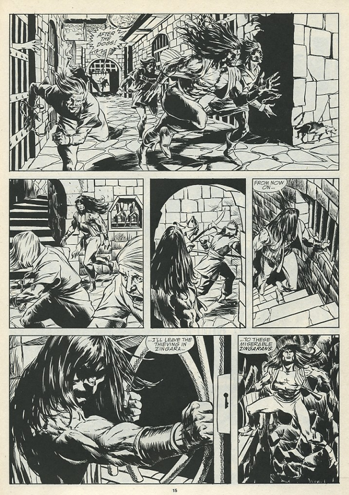 The Savage Sword Of Conan Issue #185 #186 - English 17