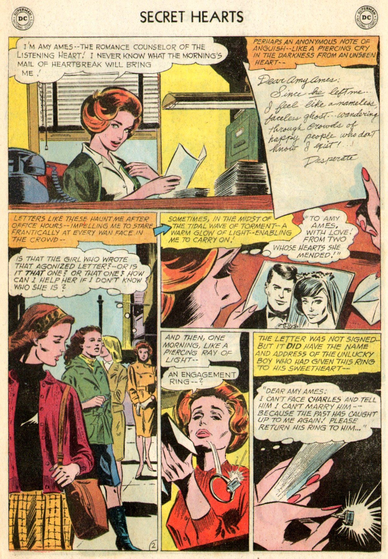 Read online Secret Hearts comic -  Issue #103 - 20