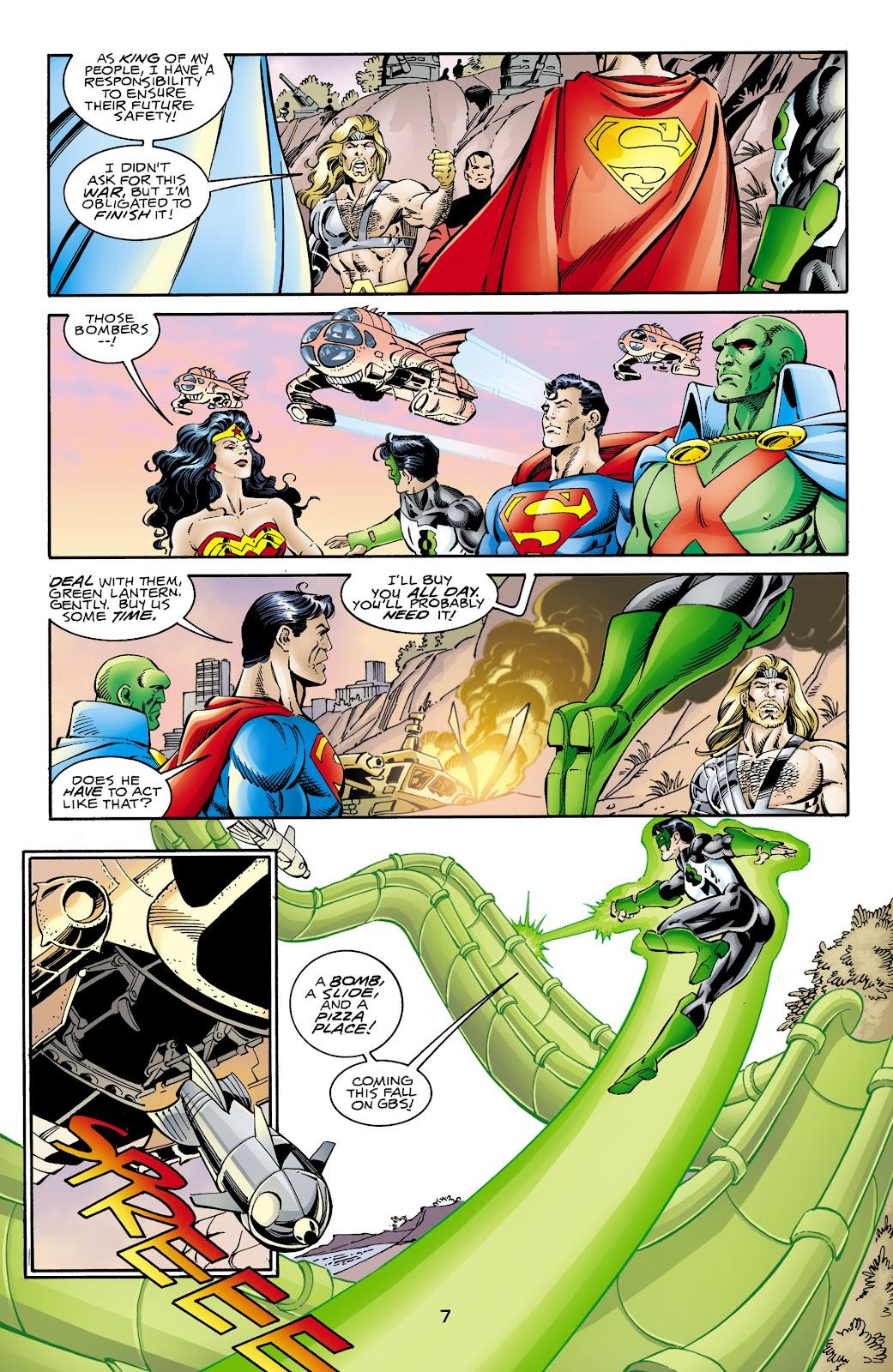 Aquaman (1994) Issue #66 #72 - English 7
