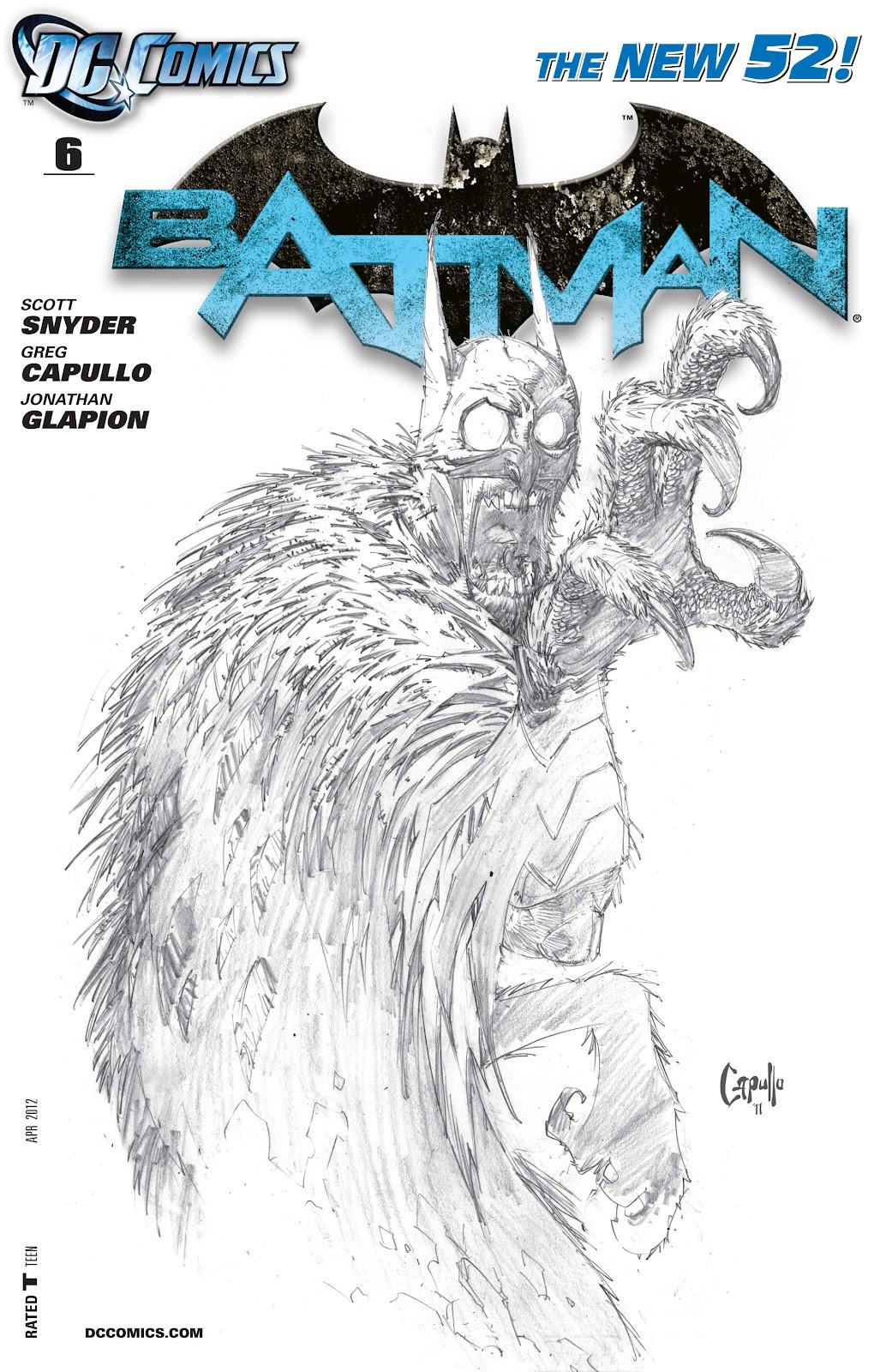 Batman (2011) Issue #6 #21 - English 3
