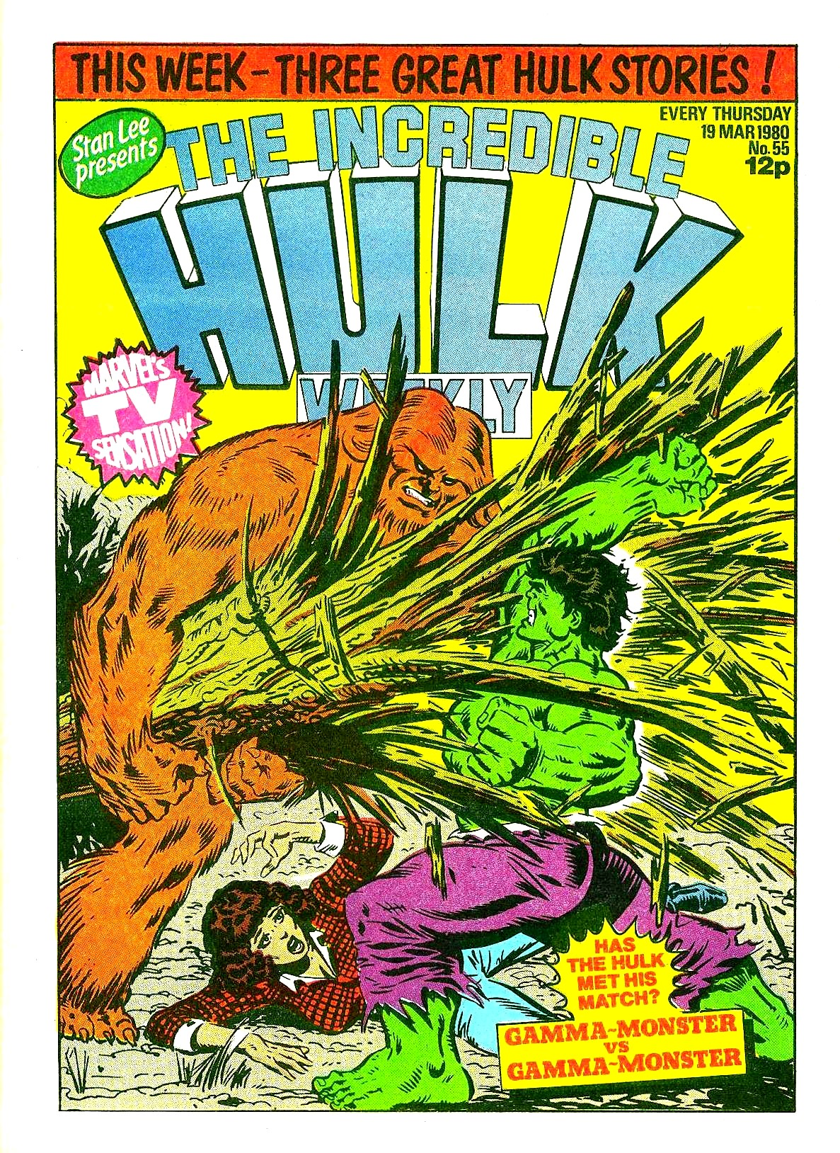 The Incredible Hulk Weekly 55 Page 1