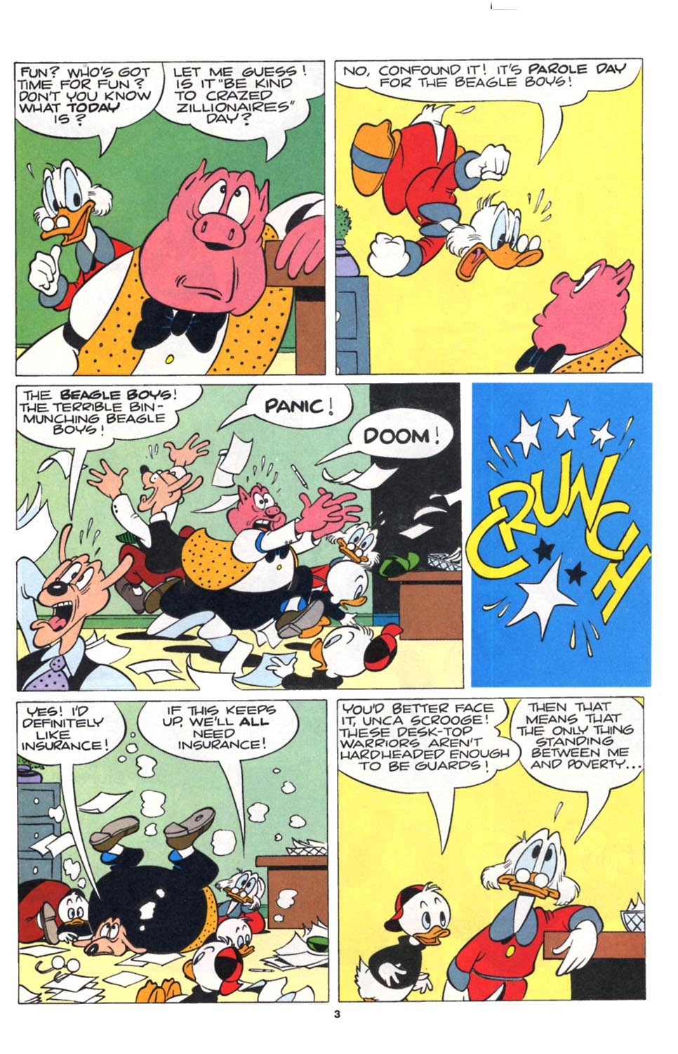 Uncle Scrooge (1953) Issue #252 #252 - English 4
