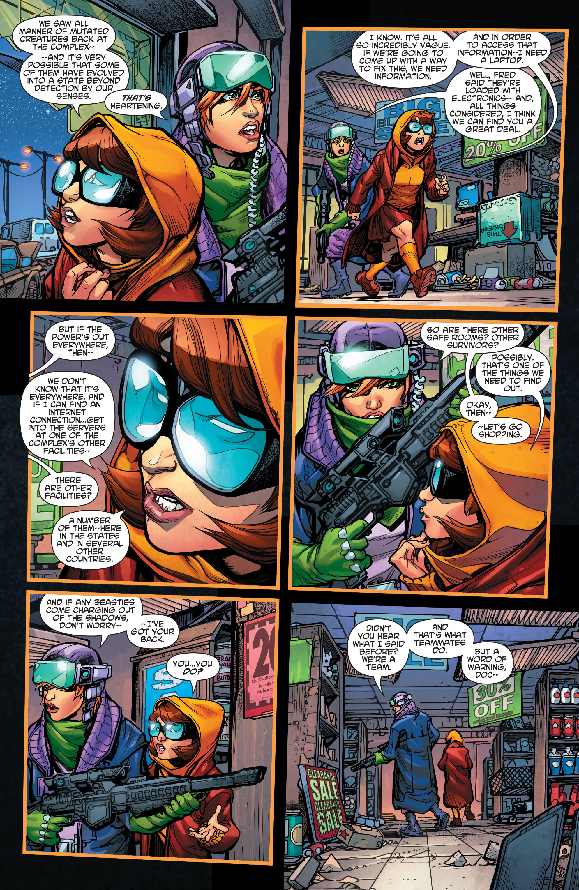 Read online Scooby Apocalypse comic -  Issue #4 - 21