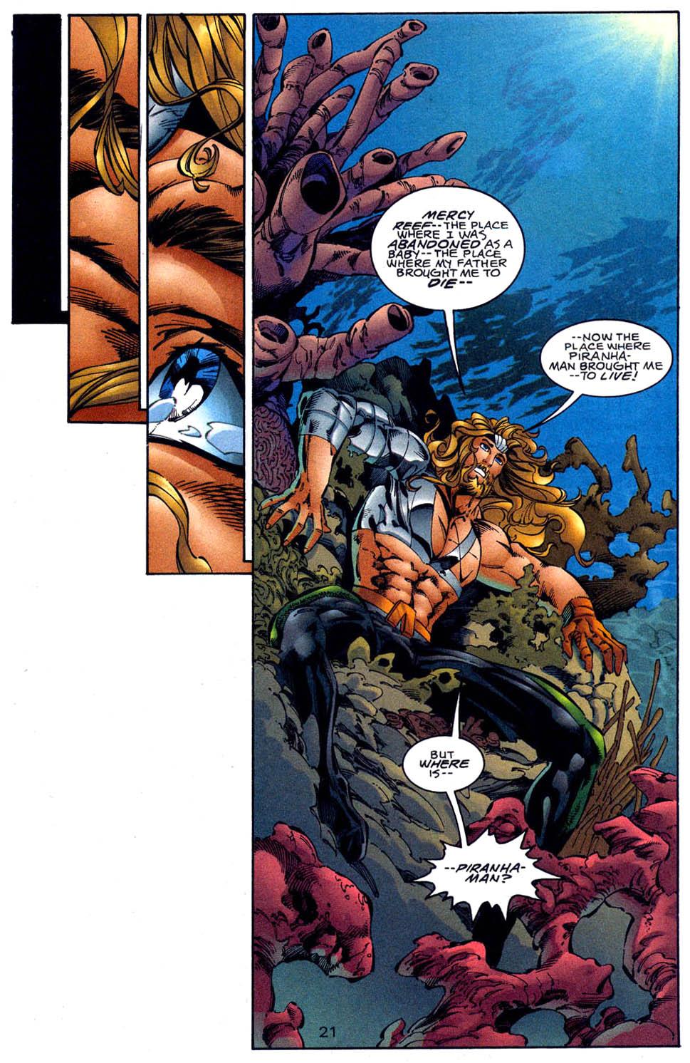 Aquaman (1994) Issue #62 #68 - English 22