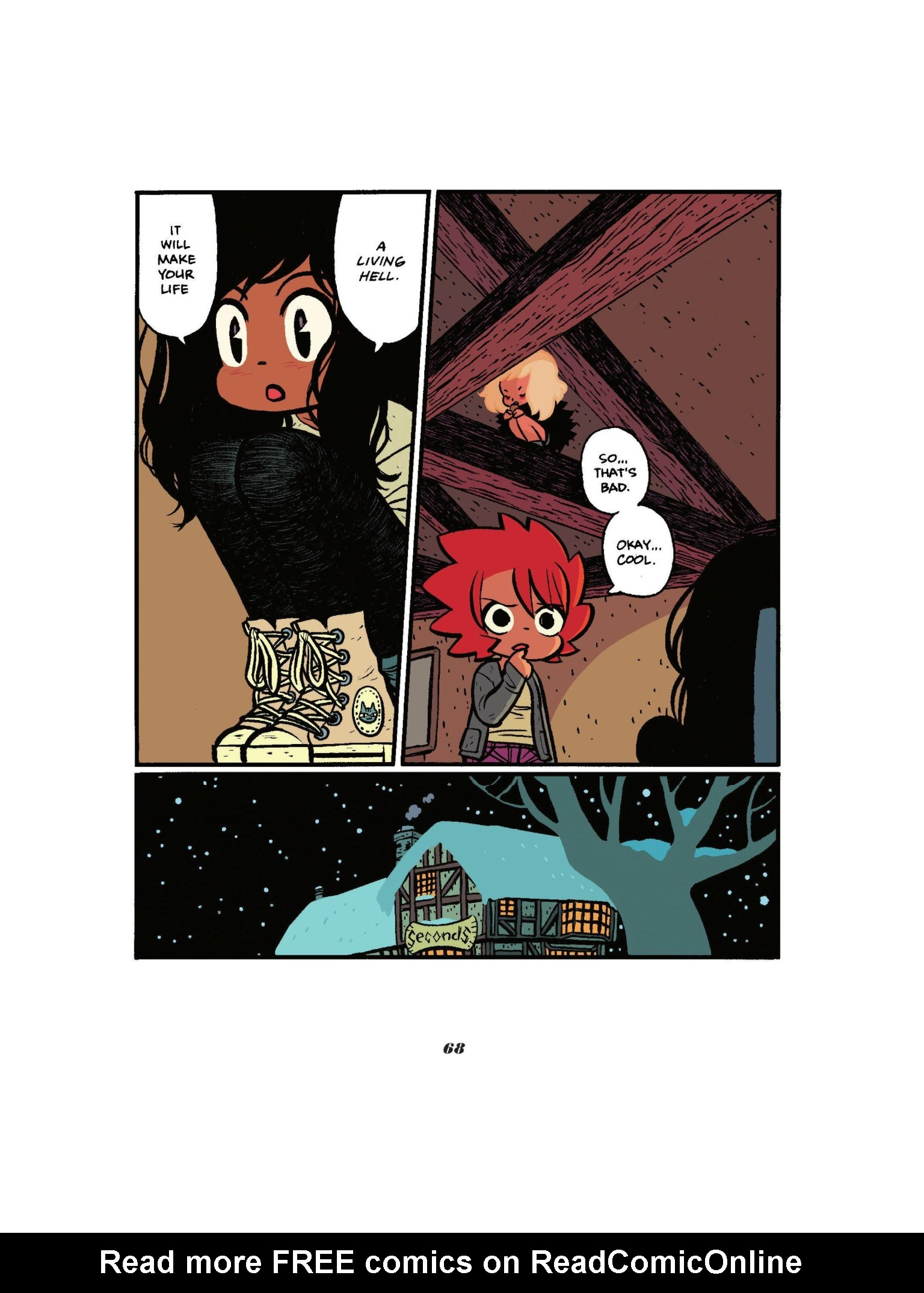 Read online Seconds comic -  Issue # Full - 70