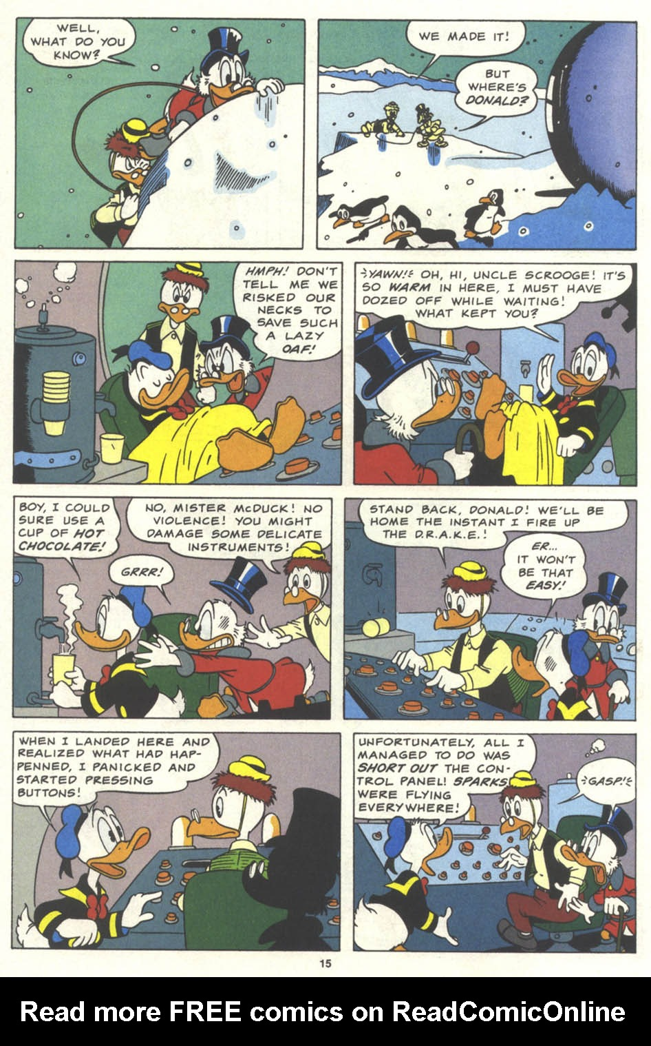 Uncle Scrooge (1953) Issue #259 #259 - English 16