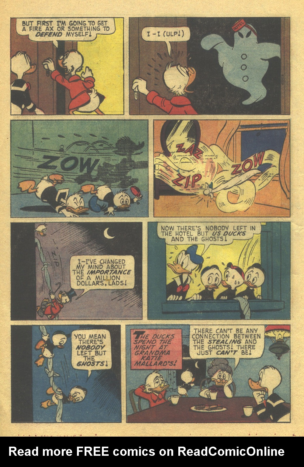 Uncle Scrooge (1953) Issue #56 #56 - English 16
