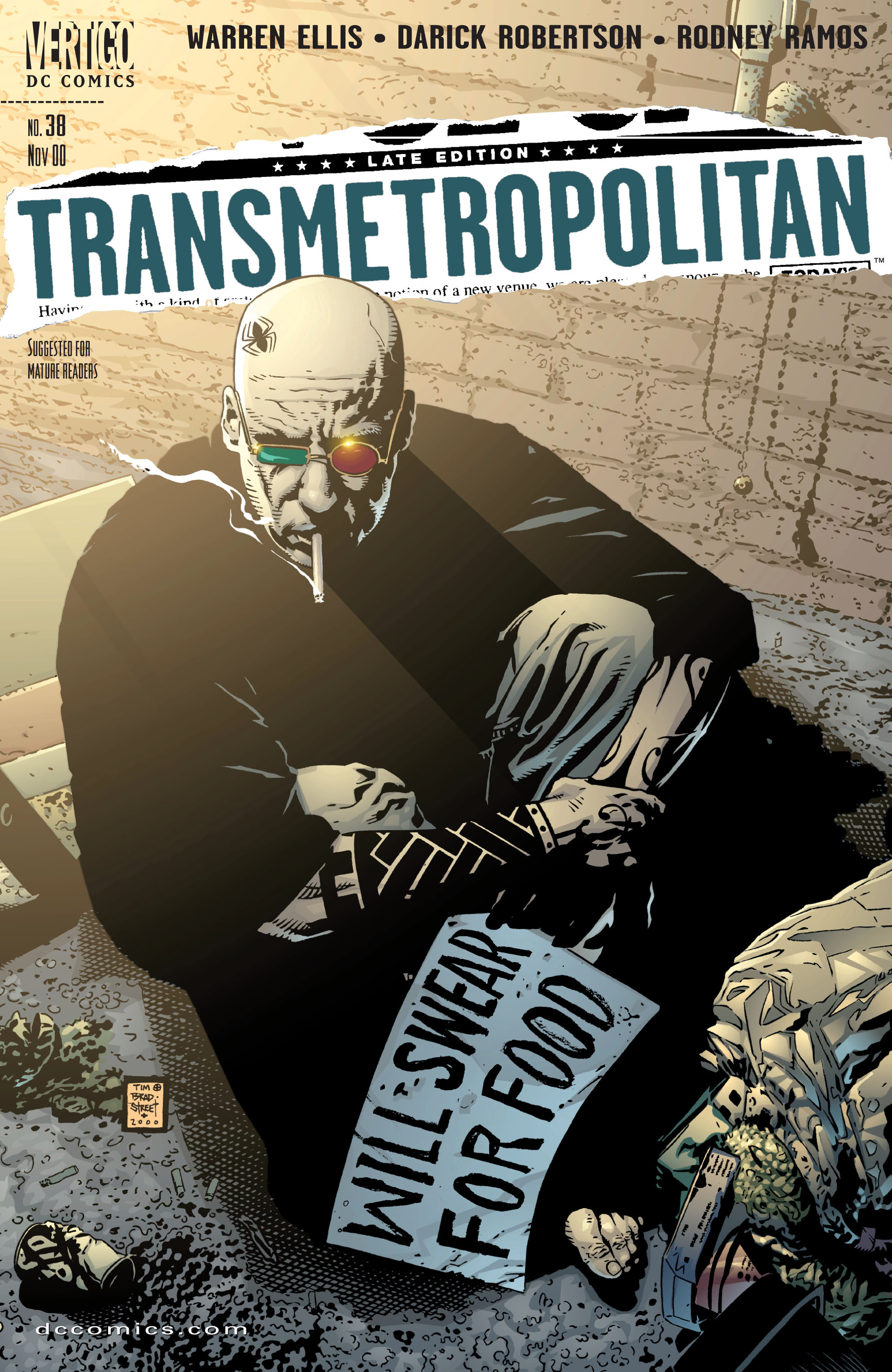 Transmetropolitan issue 38 - Page 1