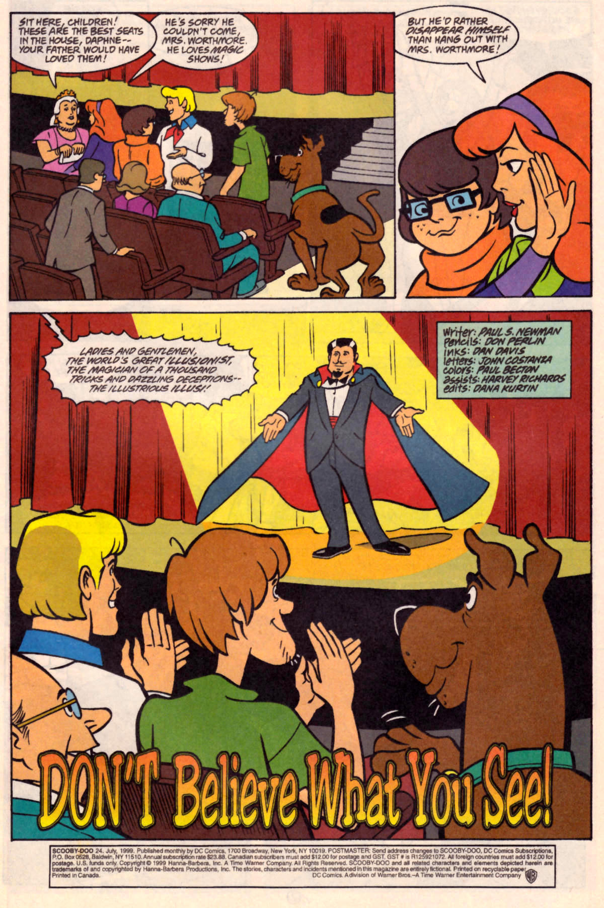 Read online Scooby-Doo (1997) comic -  Issue #24 - 2