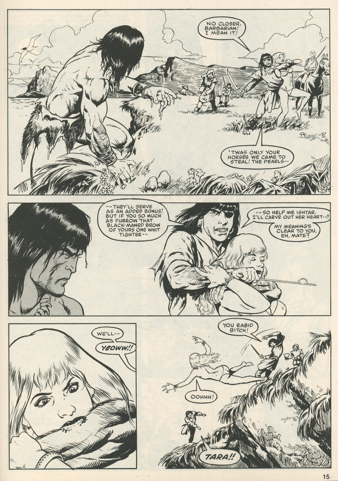 The Savage Sword Of Conan Issue #111 #112 - English 15