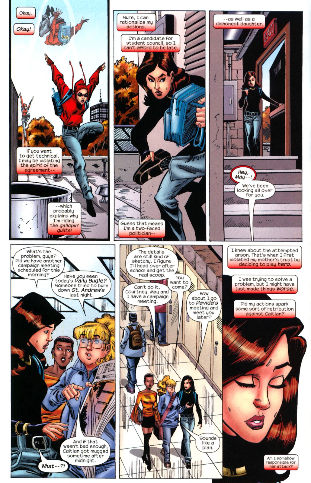 Amazing Spider-Girl Issue #2 #3 - English 5