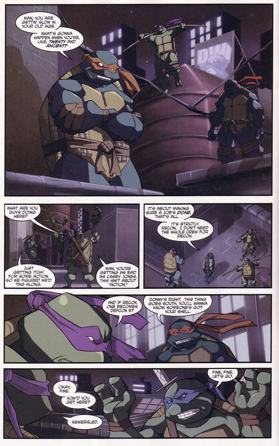 Teenage Mutant Ninja Turtles (2003) chap 7 pic 9