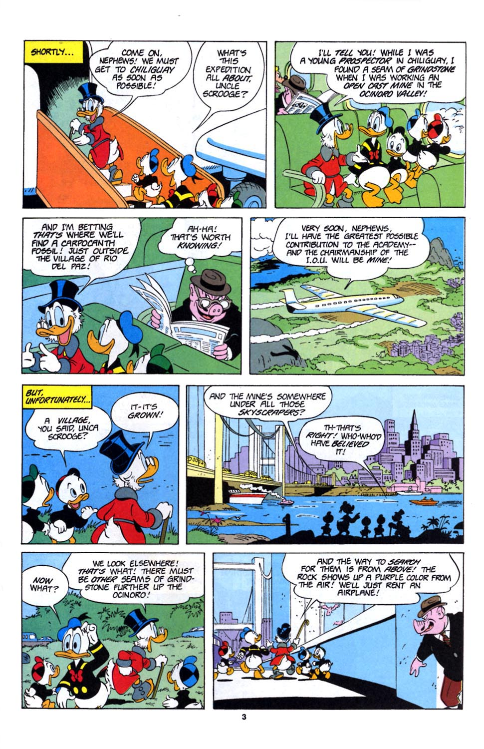 Uncle Scrooge (1953) Issue #243 #243 - English 19