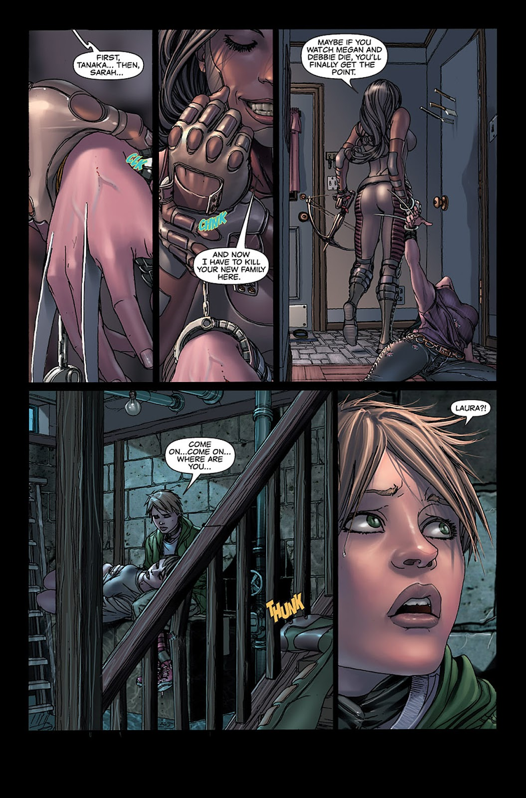 X-23: Target X Issue #5 #5 - English 3