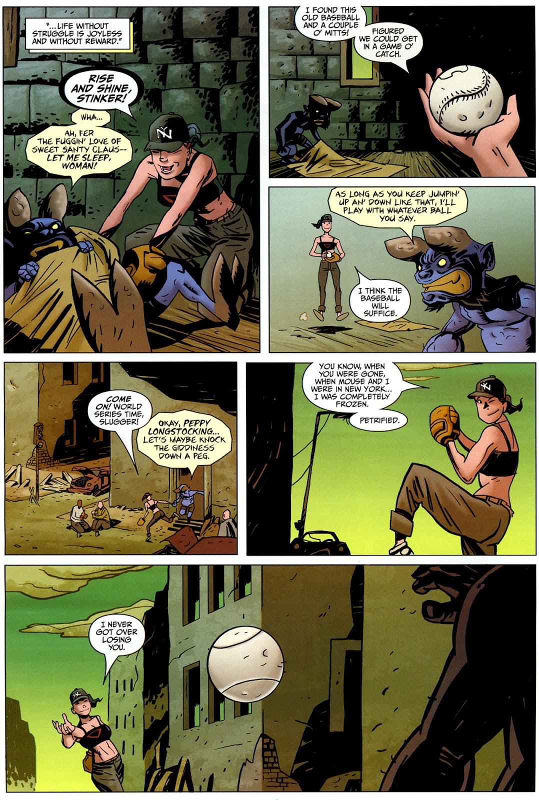 Strange Girl Issue #17 #18 - English 8